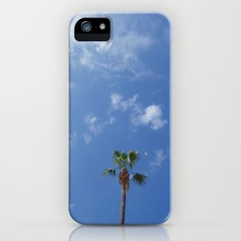 View from the beach iPhone Case