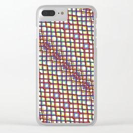 Fish Scale - Mandala Premium Series 004 Clear iPhone Case