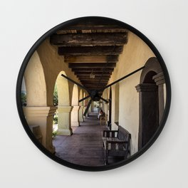 Old Mission Santa Barbara Patio Wall Clock