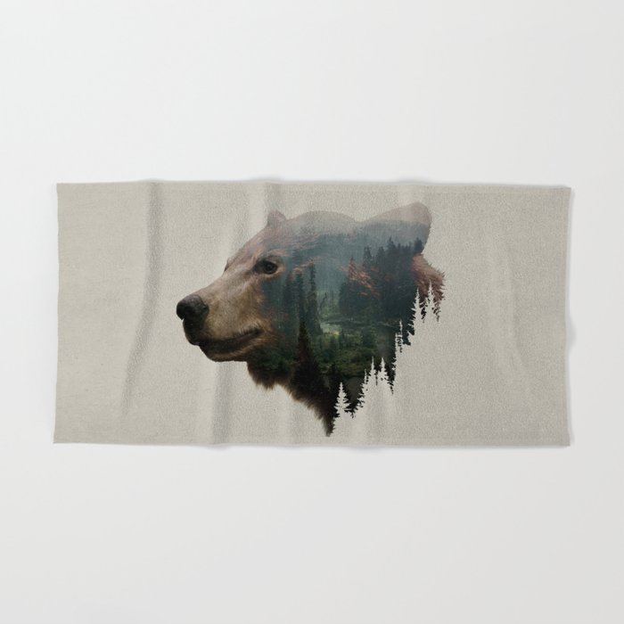 The Pacific Northwest Black Bear Hand Bath Towel By Daviesbabies Society6