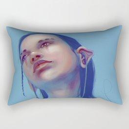 Sci-fi Music listening Rectangular Pillow