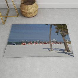 A November Day At Clearwater Beach Rug