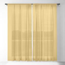 Bearded Iris Planeur ~ Golden Sunshine Sheer Curtain