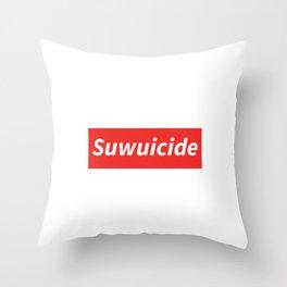 Suwuicide 1 Throw Pillow