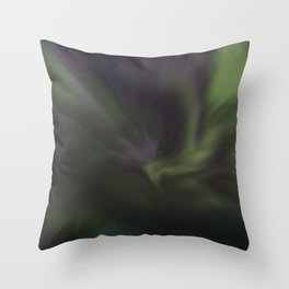 Aurora corona Throw Pillow