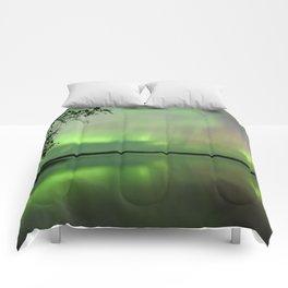 Aurora Borealis Reflection Comforters