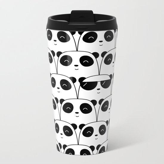 That Cool Panda Metal Travel Mug