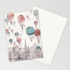 Voyages Over San Francisco Stationery Cards