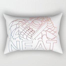 neat Rectangular Pillow
