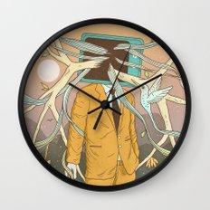 Permeating Wall Clock