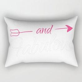 90th-Birthday-Gift---90-And-Fabulous Rectangular Pillow