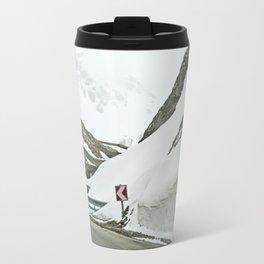 A high Alpine winter road trip Travel Mug