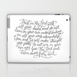 Straight Paths Laptop & iPad Skin