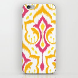 Ikat Damask - Berry Brights iPhone Skin