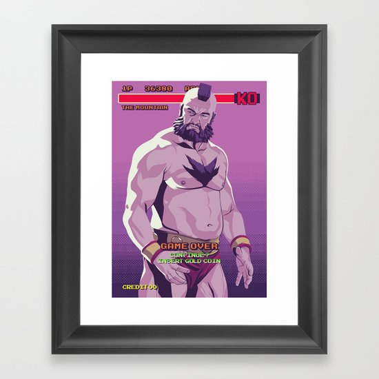 80/90s  - Mntn Framed Art Print