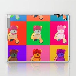 Pop Art Teddy Bear Laptop & iPad Skin