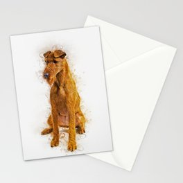 Irish Terrier Stationery Cards