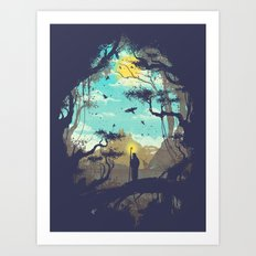 The Guardian Of The Sun Art Print