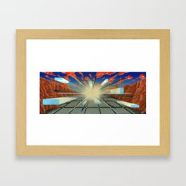 Projected Perspective Framed Art Print