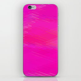 Re-Created Vertices No. 10 by Robert S. Lee iPhone Skin