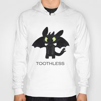 toothless Hoodies featuring Toothless  by Walko