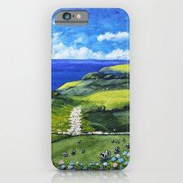 São Miguel Island, Azores, Portugal iPhone Case
