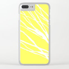 Lemon Blues Clear iPhone Case
