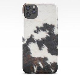 Brown Cowhide iPhone Case