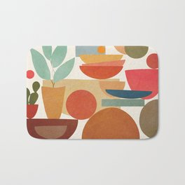 Modern Abstract Art 78 Bath Mat