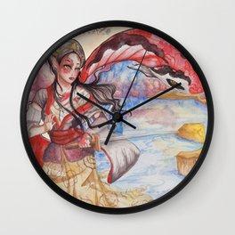 Koi Doitsu Wall Clock