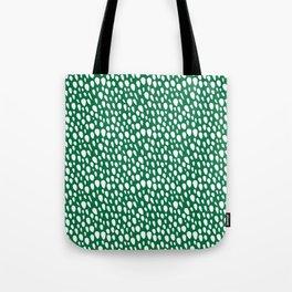 Christmas 2019 - Green Snow Tote Bag