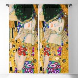 The Kiss by Gustav Klimt Blackout Curtain