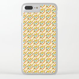 Mini Patisseries de France French Pastries and Breads Clear iPhone Case