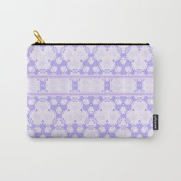 Lavender decor Pattern Design Carry-All Pouch