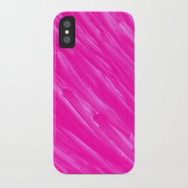 Hot Pink Happiness iPhone Case