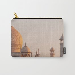 Taj Mahal At Sunset Carry-All Pouch