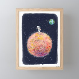 Stop and Smell the Moon Flowers Framed Mini Art Print