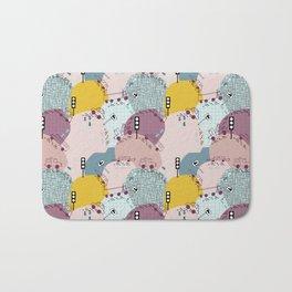 Four wheels Pink #homedecor Bath Mat