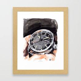 Fortis Flieger Professional Framed Art Print