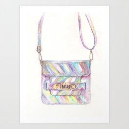 holographic bag Art Print