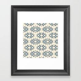 Digital lace Framed Art Print