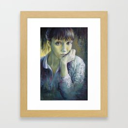 Dreaming with open eyes Framed Art Print