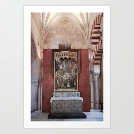 Conjoined Faiths (Mosque-Cathedral of Cordoba) Art Print