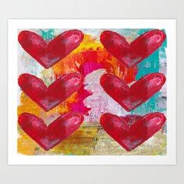 SO MUCH LOVE Art Print