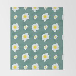 Eggs Pattern Throw Blanket