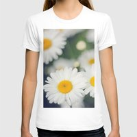 daisies T-shirts featuring Daisies by Beata Heart