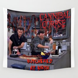 Seinfeld- Death Metal Wall Tapestry