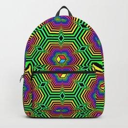 """""""Hexacube"""", by Brock Springstead Backpack"""