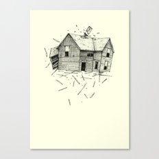 home blown Canvas Print