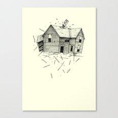 home blown Canvas Print